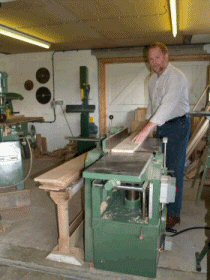 richard en the workshop
